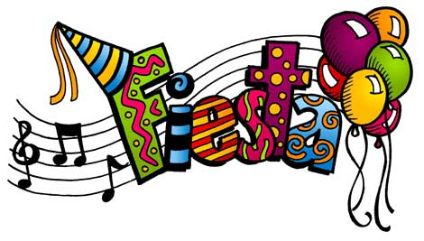 Musical Inspired Notes Fiesta Day Celebration