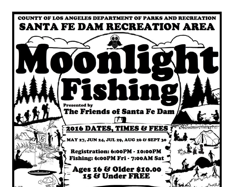 Moonlight Fishing At The Santa Fe Dam Supervisor Hilda L Solis