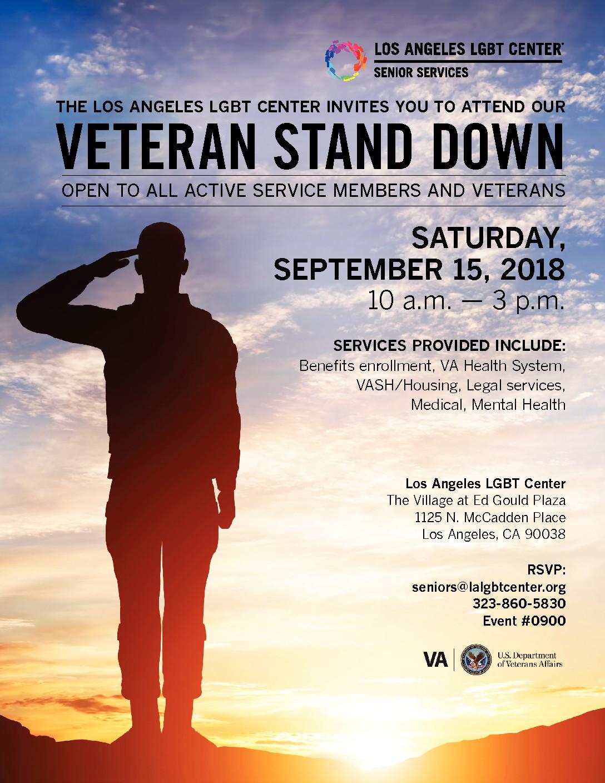 Veteran Stand Down – Supervisor Hilda L Solis