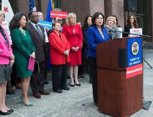 Supervisor Hilda L. Solis' Statement on Advancing Criminal Justice Reform