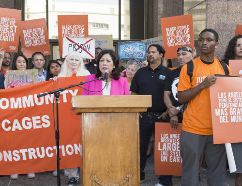 Supervisor Solis leads successful effort to cancel the McCarthy jail-building contract, prioritizing rehabilitation over punishment