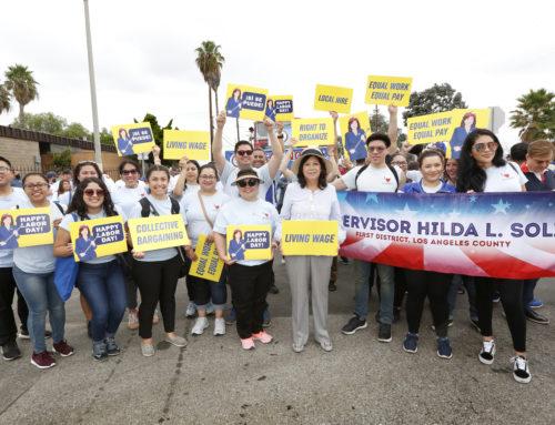 Declaración de la Supervisora Solis Sobre el Día de la Igualdad de Pago Para Latinas