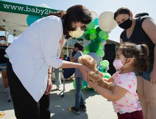 Supervisor Solis, Baby2Baby, and Build-A-Bear Provide Baby Essentials and School Supplies to Families in Need
